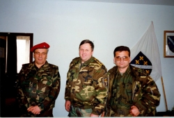 Mehmed Alagic, Rasim Delic i Fikret Cuskic