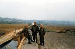 Tokom oslobadanja Sanskog Mosta u oktobru 1995.