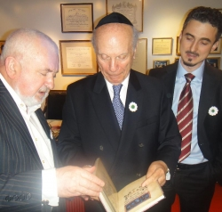 RABBI ARTHUR SCHNEIER DELIVERS KEYNOTE ADDRESS IN SREBRENICA