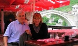 Nadira sa suprugom Azemom u Mostaru