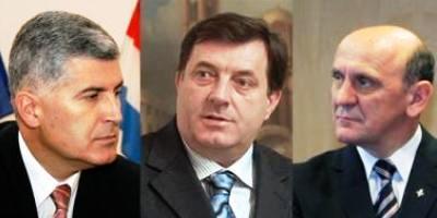 DIŽEMO GLAS PROTIV DOGOVORA DODIK, TIHIĆ I ČOVIĆ Covic-dodik-tihic