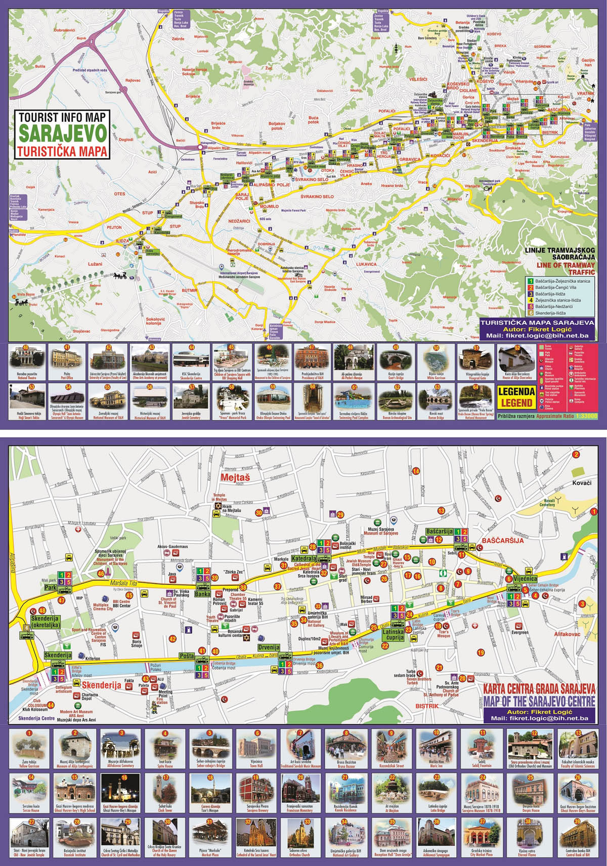 Geodet Fikret Logic Pripremio Turisticke Mape Kantona I Grada