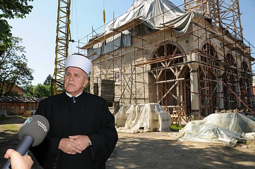 """blusrcu.ba-VIDEO: Dzamija Ferhadija Banja Luka, 2012. godine. Emisija """"Religija u slu�bi �ivota"""" Televizije Hema"""
